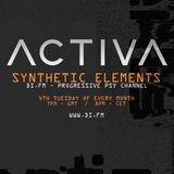 Activa - Synthetic Elements 018 - Live From ADE