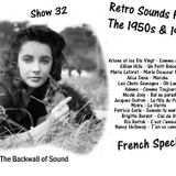 The Backwall of Sound Retro Vinyl From the 1950s & 1960s - Show 32 French Special