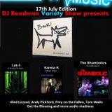DJ Readmans Radio Variety Show: Blackdoghat, Laboratory 5, The Shambolics, Karena K and more