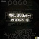 Mikel Bou live @ Pagoa 22.11.2014