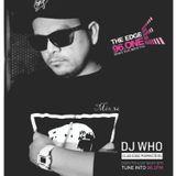 DJ Who - The Edge Radio Mix Episode 36 - June 16 2017