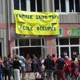 Famille sans toit, école occupée!