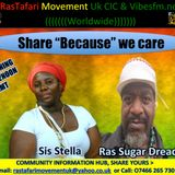 "Reggae Lives! Every Saturday 10am - 1pm GMT with Community Hub Share ""Because"" we care 11am -12pm"