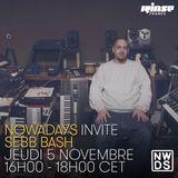 Nowadays Records invite Sebb Bash - 5 Novembre 2015