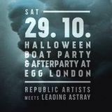 Programmer Live @ Egg London, 29th Oct Halloween