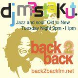2016/11/15 DJ Mastakut Show on Back2Back fm.net