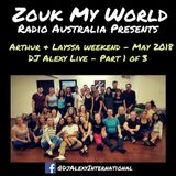 DJ Alexy Live - Part 1 - Saturday Night Zouk Party @ Connection May 2018 for Zouk My World Radio