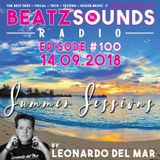 Beatz Sounds #100 - 14.09.2018 - 'Summer Sessions' by Leonardo del Mar (NL)