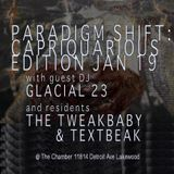 TEXTBEAK - DJ SET PARADIGM SHIFT THE CHAMBER LAKEWOOD OH JAN 19 2017