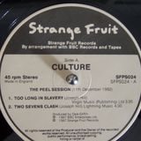 Culture -  Peel Sessions 12-11-82