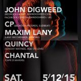 CP Cedric Piret @ Vooruit (Gent / Be) - A Night With John Digweed - 05-12-2015