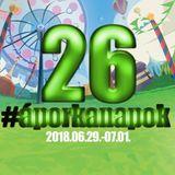 26. Áporkanapok interjú Rácz Róbert 2018.07.01 13:30