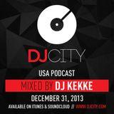 DJ KEKKE - DJcity Podcast - 12/31/13