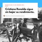 Cristiano Ronaldo sigue sin bajar su rendimiento.