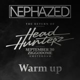 The Return Of Headhunterz - Warm up