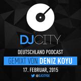 Deniz Koyu - DJcity DE Podcast - 17/02/15