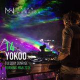 YokoO – Mayan Warrior - Burning Man 2016