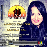 """SUNSET EMOTIONS 025.3 (05/03/2013) - Special Guest MARGA SOL """"Love Motion"""""""