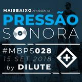 Pressão Sonora - 15-09-2018
