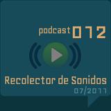 RECOLECTOR DE SONIDOS 012 - 07/2011
