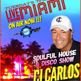 Tuesday April 10th CJ CARLOS  SOULFUL HOUS & DISCO SHOW LIVE FROM MIAMI