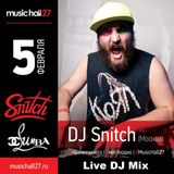 DJ Snitch @ MusicHall27  (Ufa) 05.02.2016