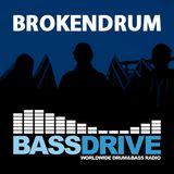 BrokenDrum LiquidDNB Show on Bassdrive 100