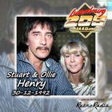 STUART & OLLIE HENRY - RADIO LUXEMBOURG - 30-12-92