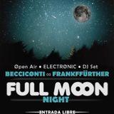 Becciconti @ FULL MOON - Open Air - Villanua