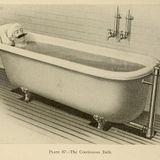 La soupe primitive dans un bain chaud