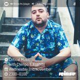 Critical Sound No.37 | Rinse FM | Chimpo & Friends  | 05.10.16