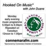 Connemara Community Radio - 'Hooked On Music' with John Duane - 23sept2019