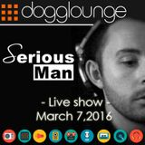 Serious-Man - 'Different Muziq session' live on Dogglounge radio, March 07, 2016