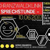 10.06.17 TOMMY ROCKZ @ Schranzwaldklinik - Sprechstunde - Club Works Osnabrück (VINYL SET)
