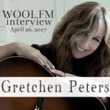 Gretchen Peters; WOOL-FM interview