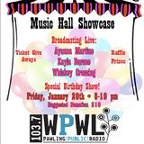 Music Hall Showcase - January 20, 2017 (Whiskey Crossing, Kayla Barone, Ayanna Martine)