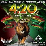 4:20 MIX 2017 @ONLY1DJLJ @PHANTOM_WEIGHT @DJHOMERD