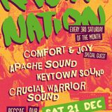 Crucial Warrior Sound @ Rasta Nation #42 (Dec 2013) part 1/9