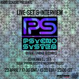 Psycho System - Live Set April 2015 on Radio Schizoid