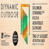 Solomun b2b Adriatique - Live At Diynamic Outdoor, Destino (Ibiza) - 21-08-2014 [Sh4R3 OR Di3]