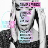 Blawan @ Boiler Room #92 Grimes & Friends - Boiler Room.TV - 03.05.2012