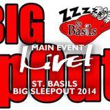 Main Event Live!  - St Basils Big Sleepout 2014 -  Live! Arts Radio Birmingham