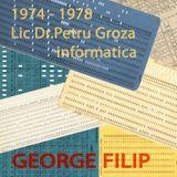 INFORMATICA '78 - George Filip & Classmates