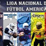 La Liga Nacional de Fútbol Americano en La Hora Punta