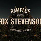 "Fox Stevenson at ""Rampage"" at Sportpaleis (Antwerp - Belgium) - 15 February 2014"