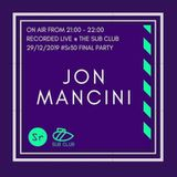 JON MANCINI - LIVE at SUB CLUB, GLASGOW - STREETrave30