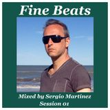 """""""Fine Beats"""" by Sergio Martínez - Session 01 - May 23, 2015."""