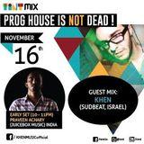 Tint Mix - Prog House Is Not Dead! Vol 1 - Ep 4 feat Khen (Israel/Sudbeat Music)