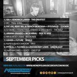 September Mini-Mix