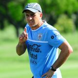 Fabián Coito, DT de la Sub-20 de Uruguay.
